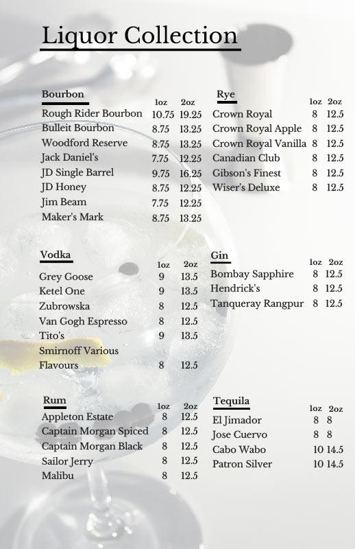 St. James Gate Winter Drinks